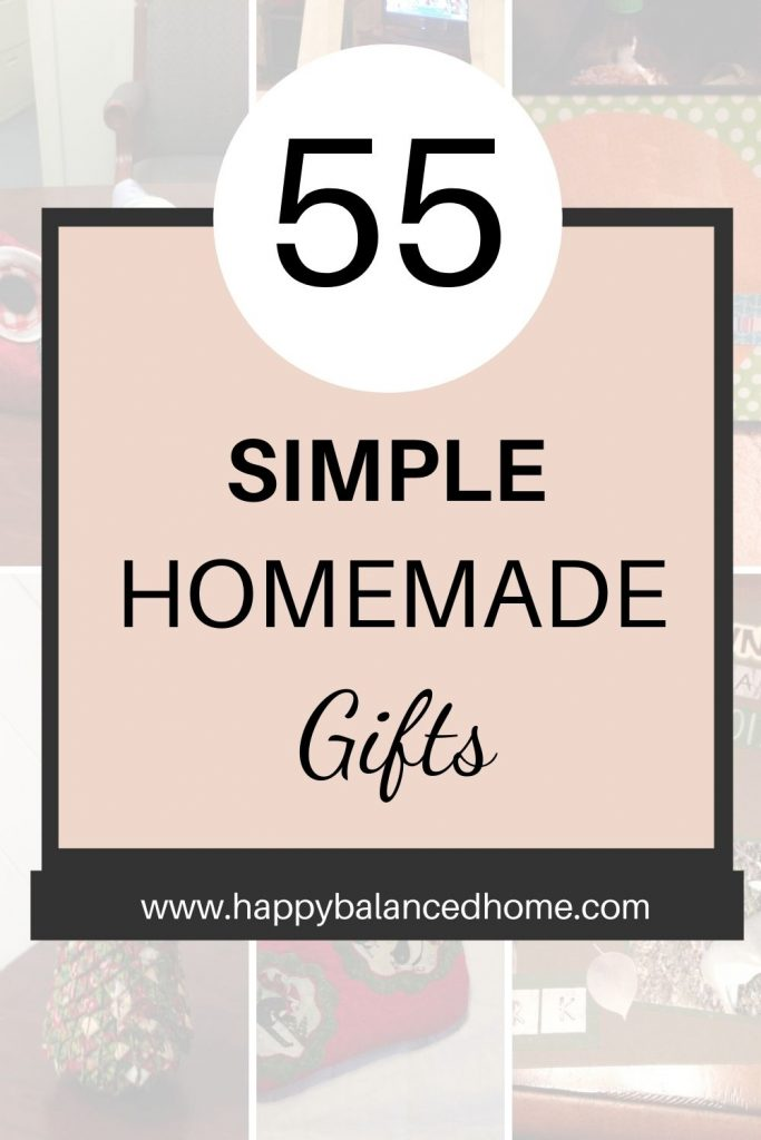 simple homemade gifts